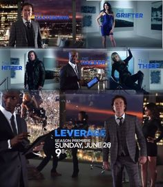 Leverage - Awesome show