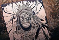 Mysticism and skeletons collide in a Reykjavik designer and illustrator Harpa Einars' work.