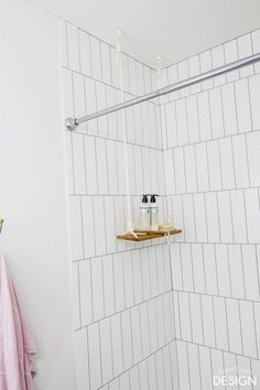 Hang a Swing Shelf in the Shower or Anywhere!