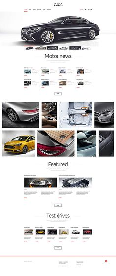 Cars & Motor News #Wordpress #template. #themes #business #responsive