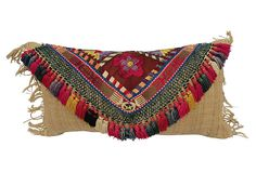 Uzbek   Tassel Pillow on OneKingsLane.com...would make a great clutch