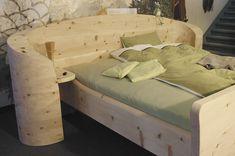 Betten aus massivem Zirbenholz wirken sich wohltuend auf den menschlichen Organismus aus. Wir fertigen auch individuell Ihr Bett aus Zirbe oder Ihr Zirbenschlafzimmer.