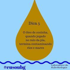 Para se ter uma noção1 litro de óleo de cozinha usado pode poluir cerca de 1 milhão de litros  de água. Além disso esse óleo forma uma camada que impede a passagem de luz causando a morte de várias espécies aquáticas que dependem da luz para desenvolver-se e sobreviver.  #eusoubg #baiadeguanabara #labhidroufrj #ufrj #riodejaneiro #errejota #agua #analisedeagua
