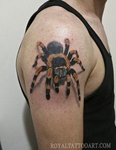 Spider arm - 30 Awesome Spider Tattoo Designs  <3 !