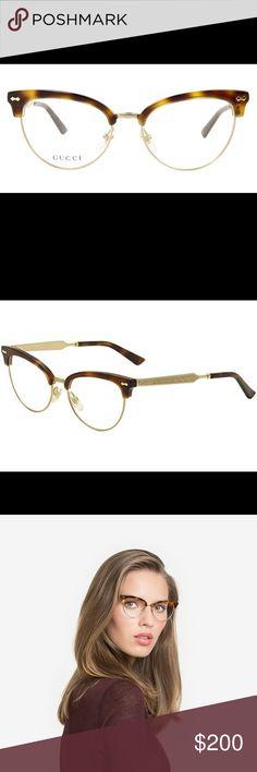 e5e4a111ea5 Authentic beautiful Gucci prescription glasses Beautiful Gucci eyeglass  frames. model #gg 4282 MEASUREMENTS Lens