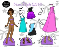 Prom Night 2010: Printable Paper Doll