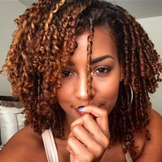 http://www.shorthaircutsforblackwomen.com/transitioning-to-natural-hair/ finger coils - Say yes to perfectly formed curls! @brandilou88 (at www.kurleebelle.com)