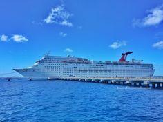 Carnival Cruise Ship - Carnival Fantasy Mobile Alabama #BayouTravel