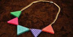 manualidades con hama beads collar - Buscar con Google