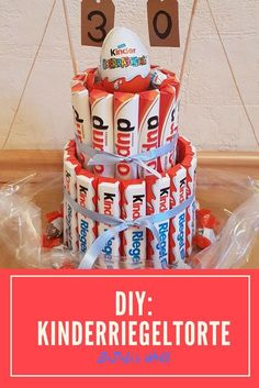 DIY Kinderriegel Torte, Geschenk, selbst gemacht Schokolade Kinder Geburtstag The Effective Pictures We Offer You About DIY Gifts for girlfriend A quality picture can tell you many things. Diy Gifts For Girlfriend, Diy Gifts For Friends, Diy Gifts For Kids, Presents For Kids, Diy Presents, Boyfriend Gifts, Diy For Kids, Birthday Tags, Birthday Diy