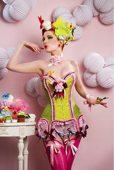 Confection in clothing!