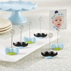 My Little Man Place Card Holders 4ct