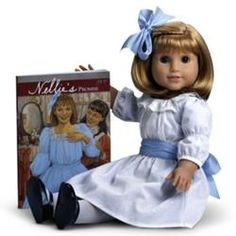 Nellie O'Malley doll, Best Friend of Samantha Parkington, was released in 2004. Nellie was archived with Samantha's collection by American Girl in May 2009, and sold out on December 4, 2008. Z