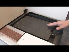 Bodengleiche Dusche von KleinDesign GmbH - YouTube