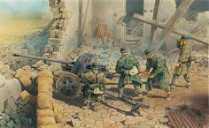 German artillery | WW2 War Art | Pinterest | Best Military art ideas