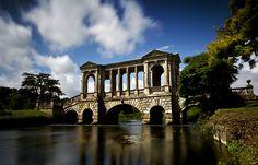 Bridge at Wilton House, Wiltshire UK. (Set for Sense and Sensibility)