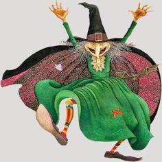 zany witch