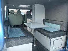 """More conversion ideas….""""Convert Your Van Ltd – Ford Transit Camper Van Conversions and Furniture Kits"""" - Vanlife & Caravan Renovation Kangoo Camper, Sprinter Camper, Bus Camper, Camper Trailers, Camper Beds, Camper Life, T4 Camper Interior Ideas, Campervan Interior, Minivan Camping"""
