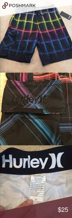 """NWT Men's Hurley Boardshort New with tag. Inseam: 10.5"""" Hurley Swim Board Shorts"""