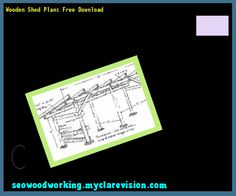 Wooden Shed Plans Free Download 093257 - Woodworking Plans and Projects!