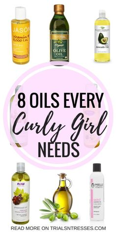 8 Oils Every Curly Girl Needs - Trials N Tresses