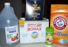 homemade dishwasher detergent. i need to try this. have you had any luck with it?