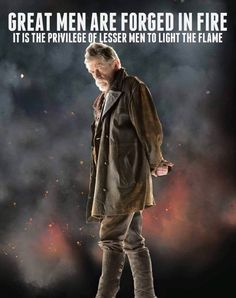 Wise words from The War Doctor...  #DoctorWho
