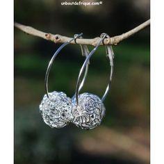 """Boucles d'oreille """"Boules de Noël"""""""