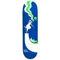 Polar Skateboard Co.<br> Polar Jerome Campbell BS Noseblunt Deck <br> Navy 8.375x32