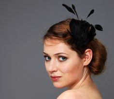 Primadonna Fascinator Headpiece Federn & Posament von Billies goes Jazzafine auf DaWanda.com