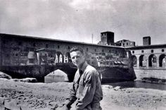 William Zinsser after liberation of Florence