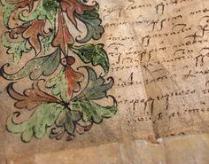 Fragment of document, Brest, 1544
