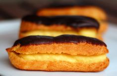 French Fridays with Dorie: Vanilla éclairs on Saturday