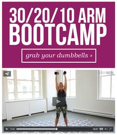 This bootcamp will get you the sexy, toned arms you've always wanted!