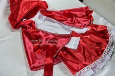 """El blog de """"Coser fácil y más by Menudo numerito"""": Cómo hacer el disfraz de Caperucita Roja"""