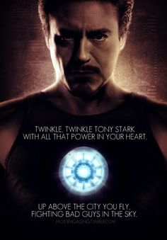 Tony Stark - Iron Man.