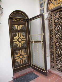 Moorish details at Hearst Castle