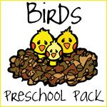 We have been observing two baby birds by our house - too cool! they grow so fast... if you are interested in this, notice there are 2 packs to download from the link :)