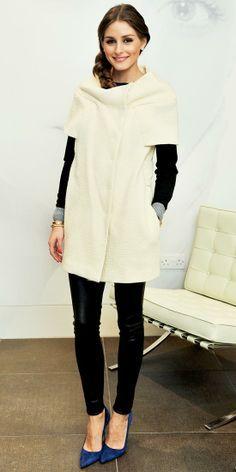 Blanc d'hiver #elegantwinteroutfit