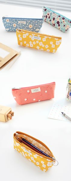 Pencils live here. Pens live here. Crayons live here. All art supplies live here. Even make up lives here! What else should live here in the Livework Pattern Multi Pouch? Let us know what other things you would make home in this awesome pouch!