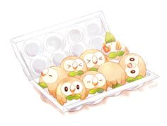 SUN/MOON LOOK AT ALL THE ROWLETS THEY ARE ADORABLE