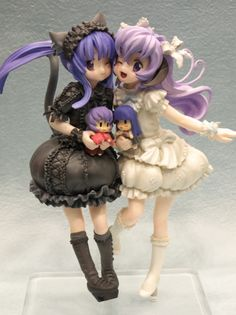 Figure ❀ Hanyuu & Rika Furude | Higurashi No Naku Koro Ni / When They Cry