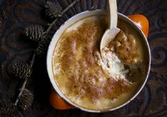 Baked Rice Pudding w/ Coconut Cream. An awesomely delicious vegan dessert; Baked Rice Pudding w/ Tamarind and Coconut Cream. Dannette May Recipes, Clean Recipes, Snack Recipes, Dessert Recipes, Recipies, Healthy Eating Recipes, Clean Eating Snacks, Dairy Free Rice Pudding, Brown Rice Cooking