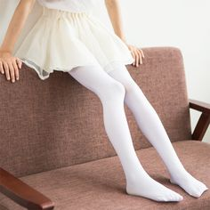 4d830e71fd8 2018 new Fashion Candy color Spring and autumn models Foot Children Velvet  1 piece Pantyhose Dancing