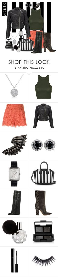 """""""Set #1"""" by charna-duncan ❤ liked on Polyvore featuring Anne Sisteron, Topshop, Dolce&Gabbana, Lipsy, Roberto Cavalli, Chanel, Givenchy, Valentino, NARS Cosmetics and Manic Panic NYC"""