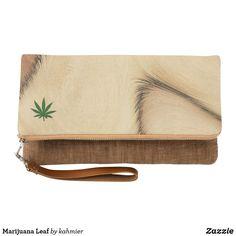 Marijuana Leaf Clutc