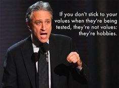 Jon Stewart's Wise Words