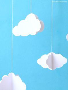 DIY 3D Wolken Die Mogelei