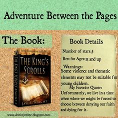 Blog Tour: Book Review of The King's Scrolls