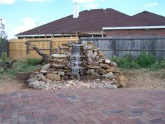 011 Backyard fountain